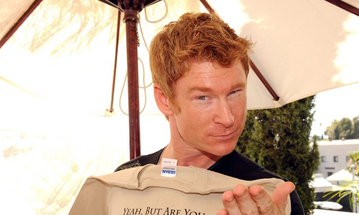 Actor Zack Ward poses during the 2008 DPA Garden Party gift suite held at Frederic Fekkai in Beverly Hills, California, on May 30, 2008. (Katy Winn/Getty Images)