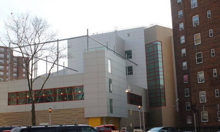 """Harlem Children's Zone Promise Academy, where an 11-year-old boy was allegedly poisoned by another boy who gave him antipsychotic medication on Feb. 10, 2017. (""""Harlem Children's Zone"""" by Jules Antonio/Flickr [CC BY-SA-2.0 (ept.ms/2utDIe9)])"""