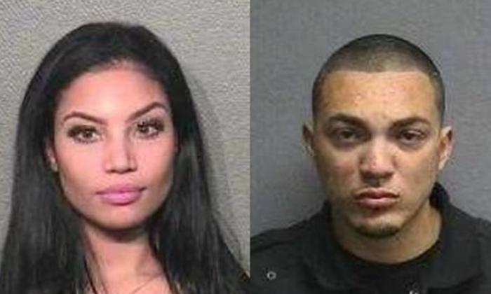 "Sierra Tarbutton and Michael ""Money Mike"" Cuellar. (Houston Police Department)"