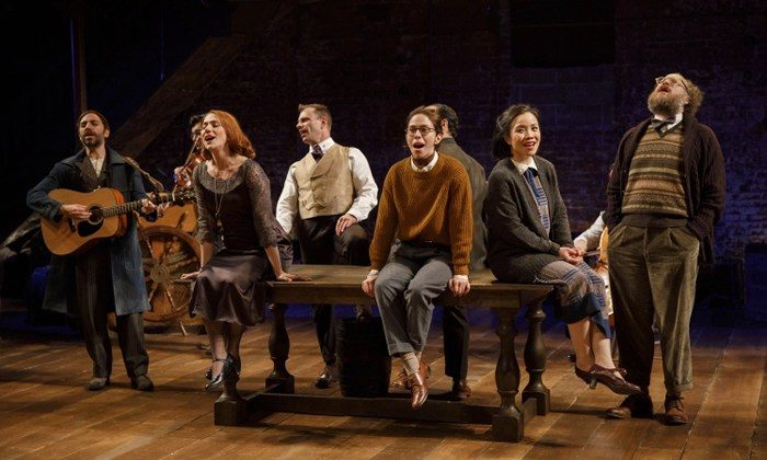 """The cast of Fiasco Theater's production of """"Twelfth Night, or What You Will."""" (Joan Marcus)"""