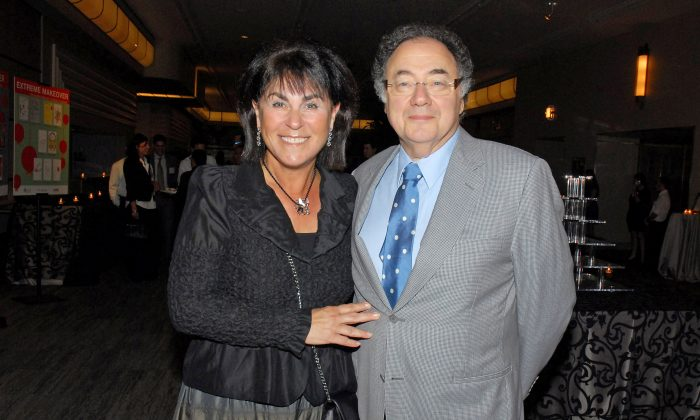 Honey and Barry Sherman, Chairman and CEO of Apotex Inc., were found dead in their Canadian home on Friday, Dec. 15 in an incident police are calling 'suspicious.' Photo taken during (UJA) fundraiser in Toronto, Ontario, Canada, on Aug. 24, 2010. (The Globe and Mail/Janice Pinto/via Reuters)