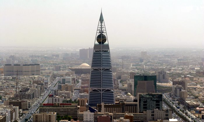 A palace in Saudi Arabia's capital Riyadh city (not pictured) was almost hit by a ballistic missile fired from Yemen. (HASSAN AMMAR/AFP/Getty Images)
