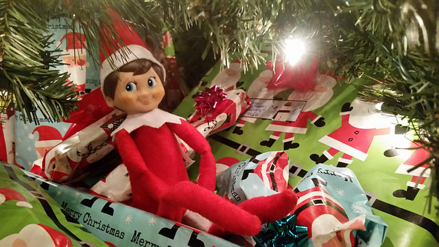 A Texas mother of two accidentally burns their Elf on the Shelf, and secretly hopes he dies, along with their tradition. 
