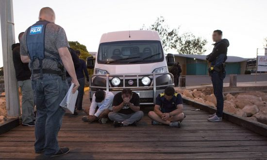 Taskforce Conducts Largest Meth Bust in Australia's History