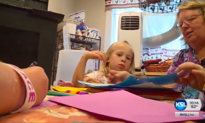 Woman collapses at home, but 5-year-old granddaughter was in the house—surprises everyone
