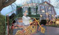 Man Famous For Elaborate Christmas Display Dies Tending to His Lights