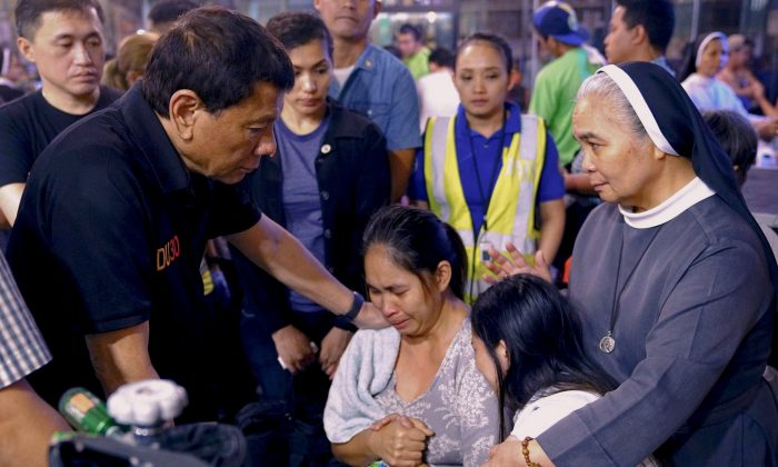 37 feared dead in Philippine mall blaze