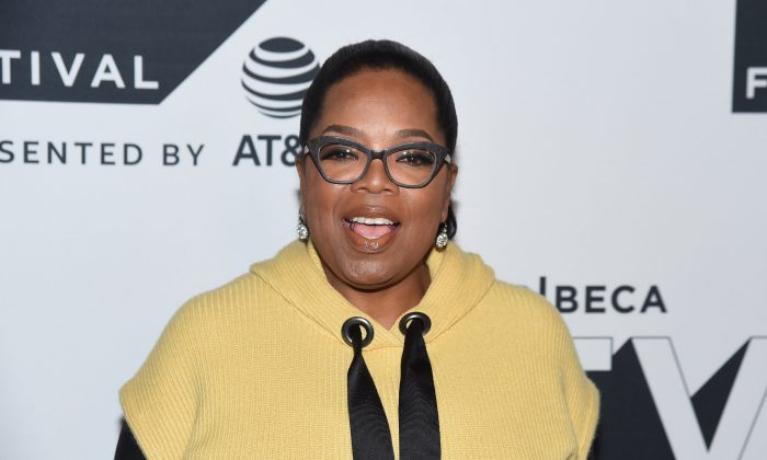 Oprah Winfrey attends the Tribeca TV Festival series premiere of Released at Cinepolis Chelsea in New York City on Sept. 22, 2017.  (Nicholas Hunt/Getty Images for Tribeca TV Festival)