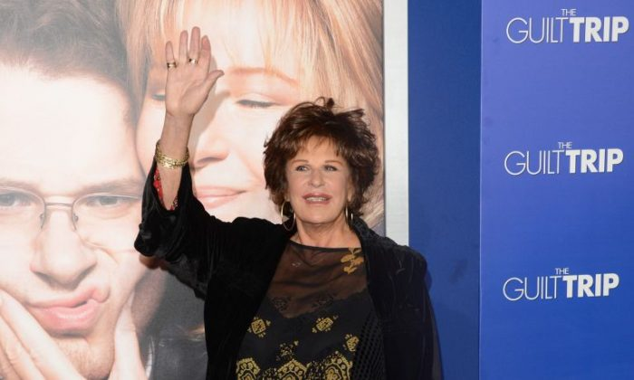 "Lainie Kazan attends the premiere of Paramount Pictures' ""The Guilt Trip at Regency Village Theatre on December 11, 2012 in Westwood, California. (Jason Merritt/Getty Images)"