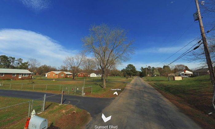 The 300 block of Sunset Boulevard in Chester, Va. (Bing Maps screenshot)