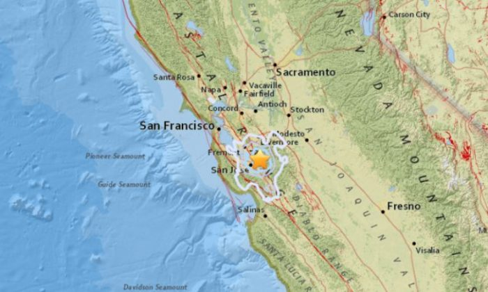 Earthquakes rattle San Jose - but not the big one