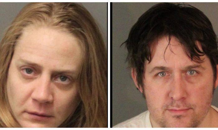 Ashley Carroll, 31 and Benjamin Baldassarre, 39. (Riverside Police Department)