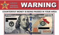 El Paso Police Warn Counterfeit Money Used on Movie Sets is Being Circulated