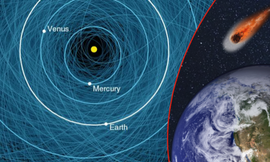 Newly Found Asteroid the Size of a Bus to Buzz Earth Today