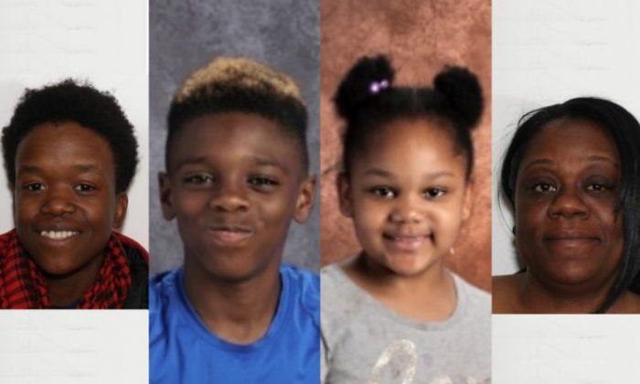 Teen learns mother, brother and sister killed in quadruple murder