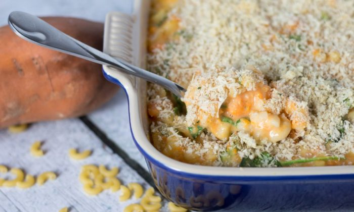 Sweet Potato Mac and Cheese (Courtesy of The Monday Campaigns)