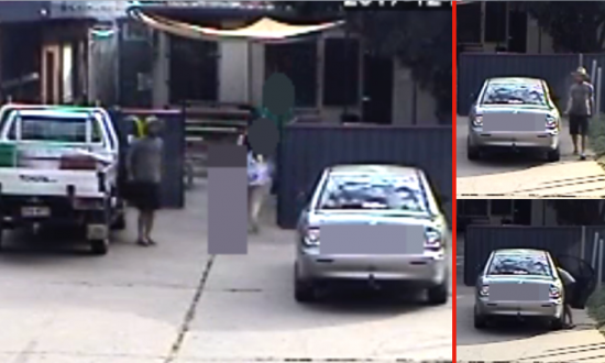 Parents' Worst Nightmare: Chilling Moment a Man Tries to Abduct Little Girl from Back of Car