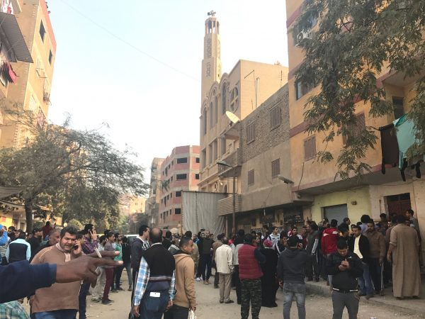 At least three dead after gunman opens fire at Cairo church