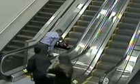 Family Sues Airline After Elderly Woman Falls Down Escalator