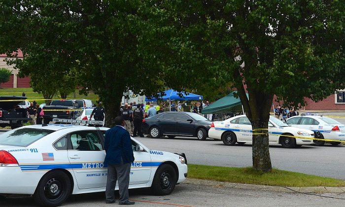Nashville Metropolitan Police investigate a crime scene. (file, Jason Davis/Getty Images)