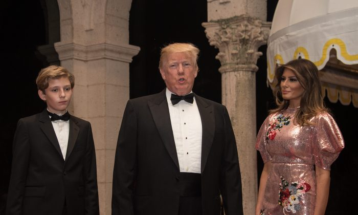 Donald and Melania Trump Had a Rockin' New Year's Eve