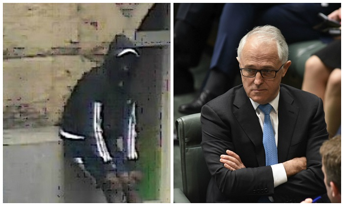 "Australian Prime Minister Malcolm Turnbull has backed Federal Minister Greg Hunt who has said that African crime gangs in the city of Melbourne are ""out of control."" (L image: Victoria Police, R image: Stefan Postles/Getty Images)"