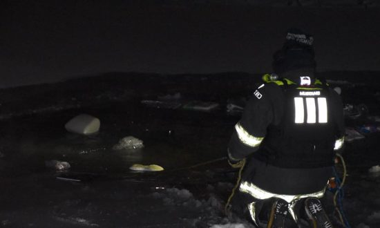 Firefighters in Indianapolis Rescue Woman from Her Submerged Car on New Year's Eve