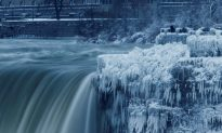 Niagara Falls Partially Freezes Amid Polar Vortex