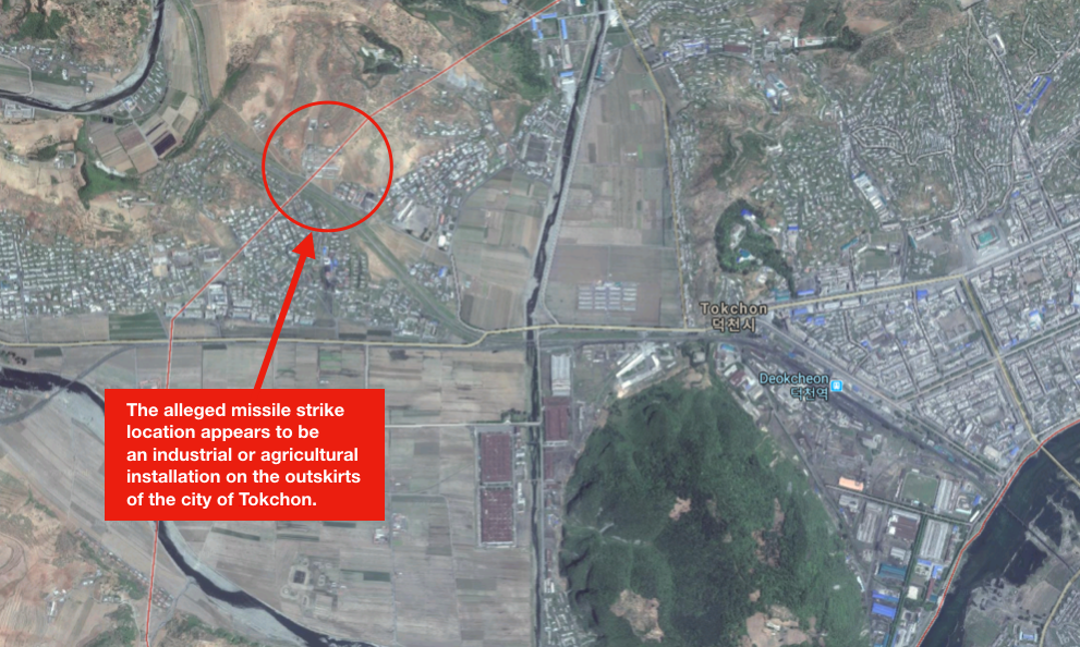 North Korea Might Have Accidentally Hit Its Own Cities With A Missile