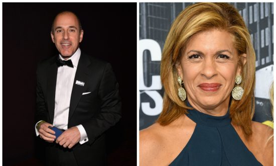 Here's What Matt Lauer Texted Hoda Kotb After He Found out She Was Replacing Him on 'Today'