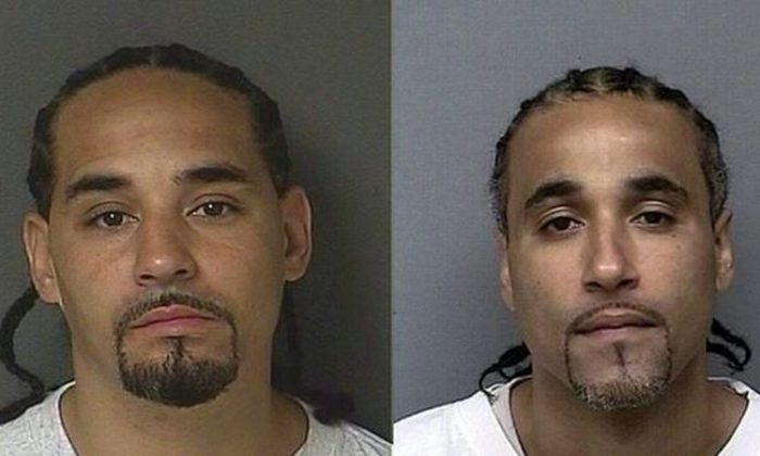 Richard Anthony Jones (pictured right) and Ricky Amos (left). (Kansas City Police Department)