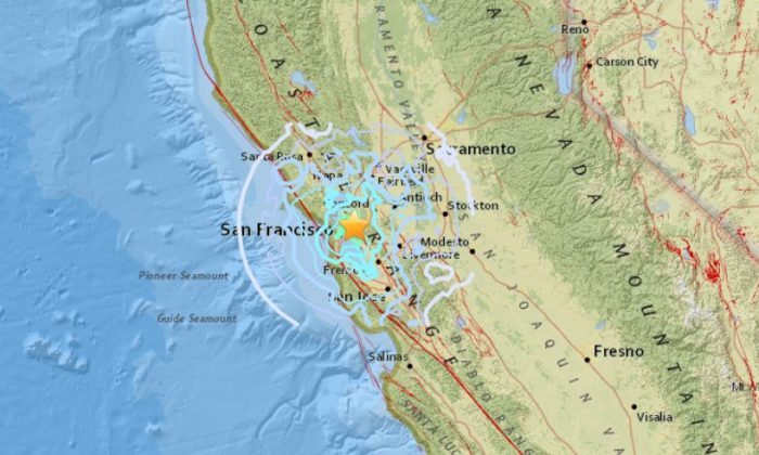 Magnitude 4.5 Earthquake Hits San Francisco Bay Area