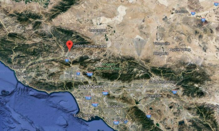 Santa Clarita, California. (Google Maps)