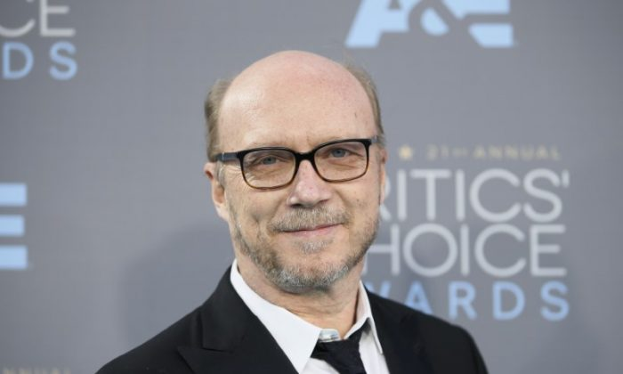 Actor Paul Haggis arrives at the 21st Annual Critics' Choice Awards in Santa Monica, California Jan. 17, 2016. (Reuters/Danny Moloshok)