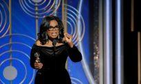 Oprah Winfrey Claims Lifetime Golden Globe