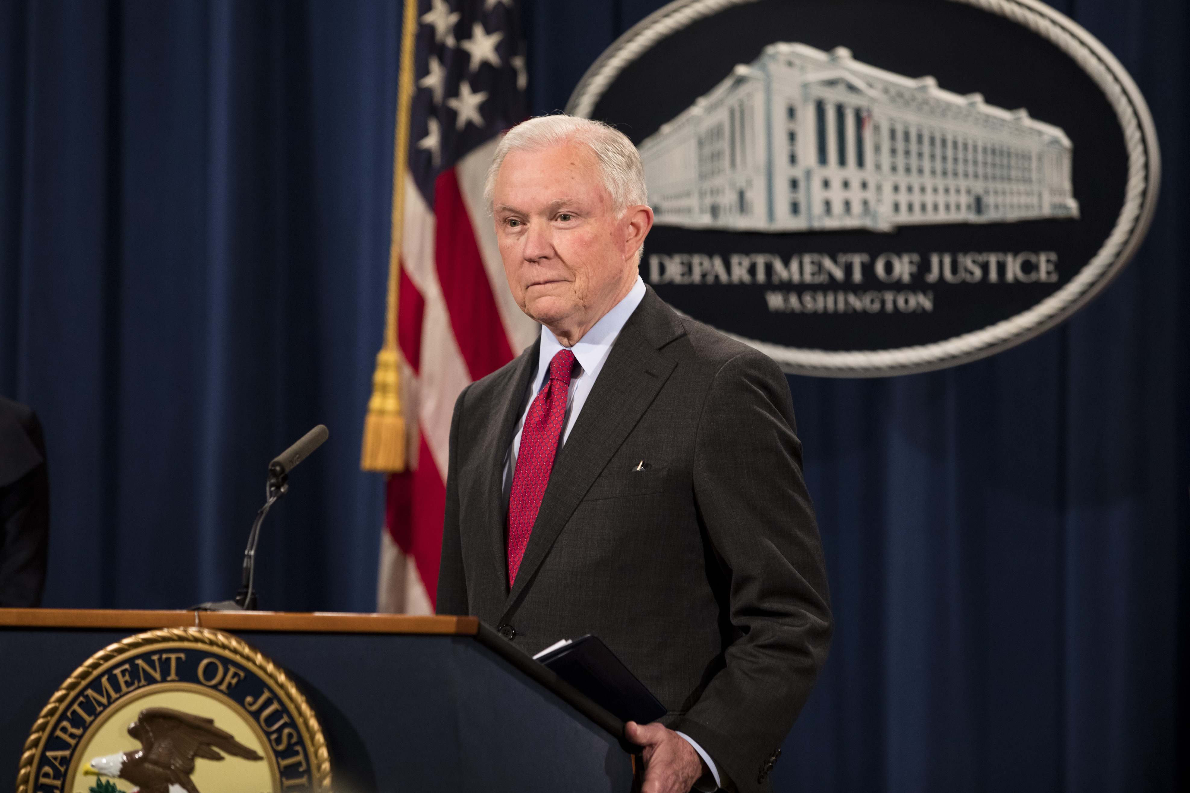 Jeff Sessions pledges new look into old administration's shutdown of drug investigation