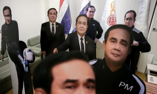 Rights Group Criticizes Thai PM's Cardboard Cutout Gesture