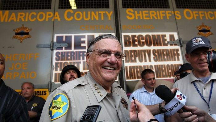 Arpaio announces he will seek US Senate seat
