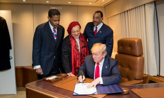 President Trump Signs Martin Luther King Jr. National Historical Park Into Law