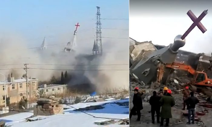 Christians Crackdown In China As Churches Being Destroyed