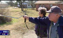 Elderly man uses a cane to walk, but when car catches fire in front of his house—it's like a miracle