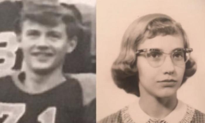 Dennis Vehnar dan Karen Lehmann saat remaja