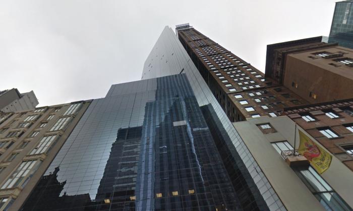 The Metropolitan Tower in Manhattan houses the apartment where Howard Rubin allegedly raped and tortured women. (Screenshot via Google Street View)