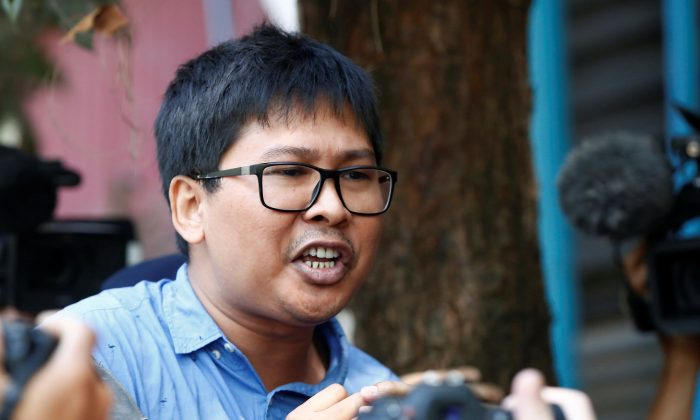 European Union calls for release of reuters journalists charged in Myanmar