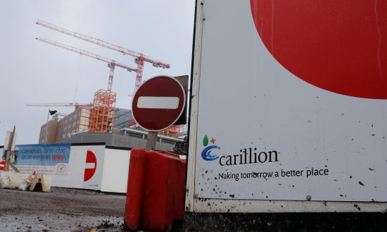Britain's Carillion Collapses, Forcing Government to Step In
