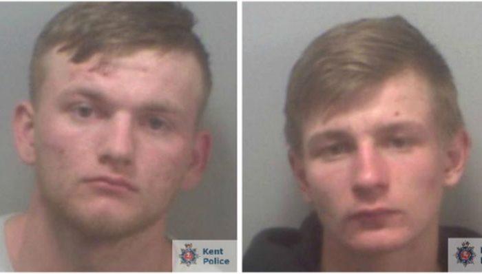 Alex Macdonald and Charlie White. (Kent Police)
