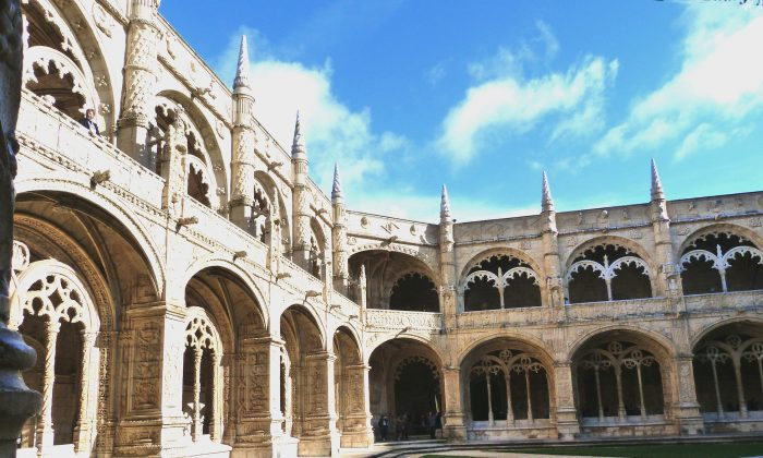 Jerónimos Monastery in Lisbon is a UNESCO World Heritage Site. (Barbara Angelakis)