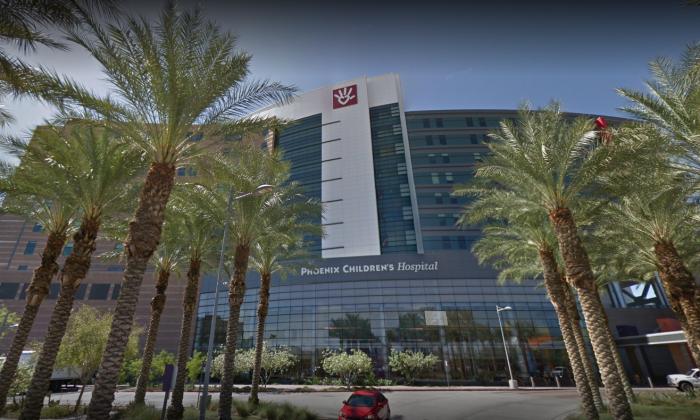 A red pin marks the location of Phoenix, Arizona (GoogleMaps)