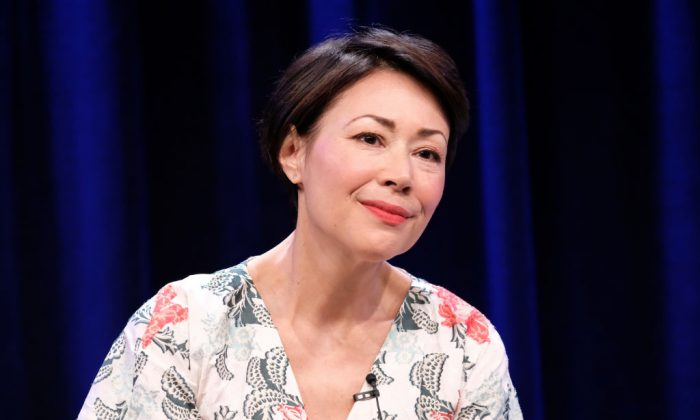 Ann Curry in Beverly Hills, California on July 30, 2017.  (Frederick M. Brown/Getty Images)