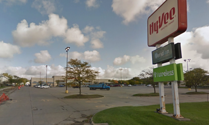 The Hy-Vee store located in Cedar Falls. (Screenshot Via Google Maps)